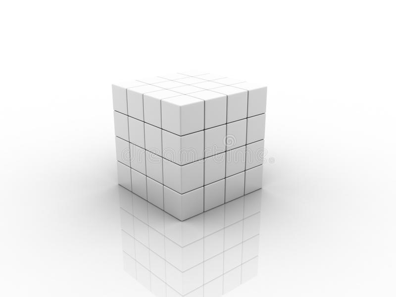 Download Cube stock illustration. Image of graphic, form, background - 18452666