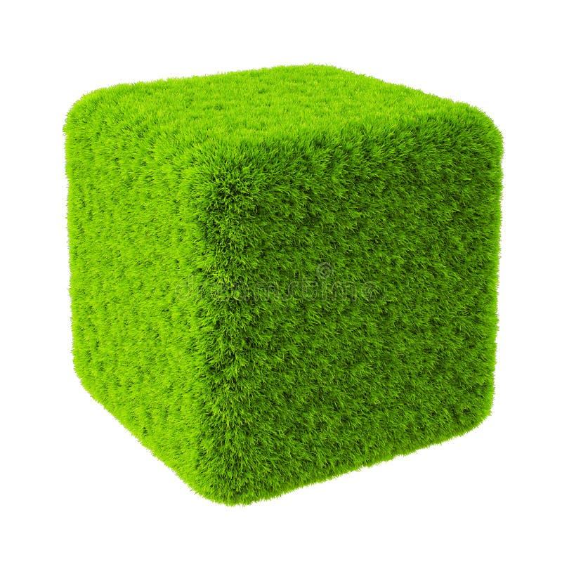 Cube illustration stock