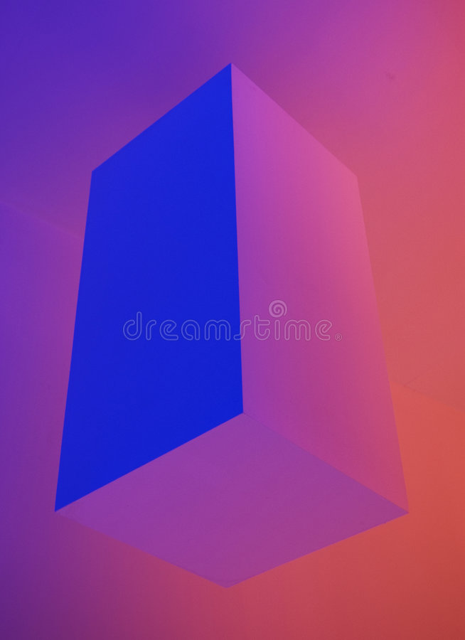 The cube stock image