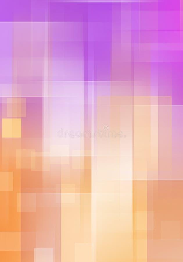 Cube abstrait Backround illustration stock