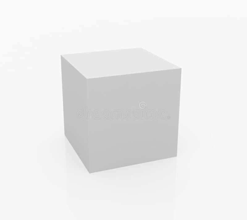 cube biel royalty ilustracja