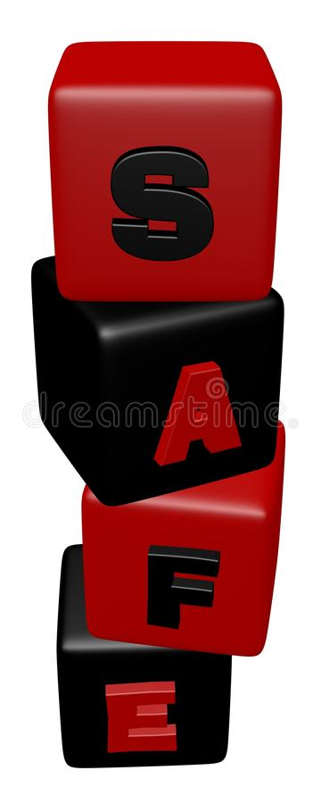 Download Cube Block Combined A Sale Word Stock Illustration - Image: 14369162