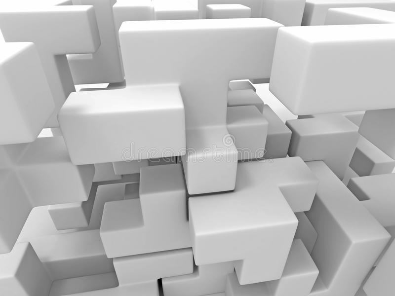 Download A Cube Built From Blocks. Puzzle Stock Photography - Image: 14503402