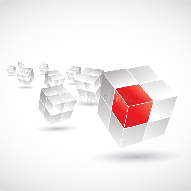 Cube design vector illustration