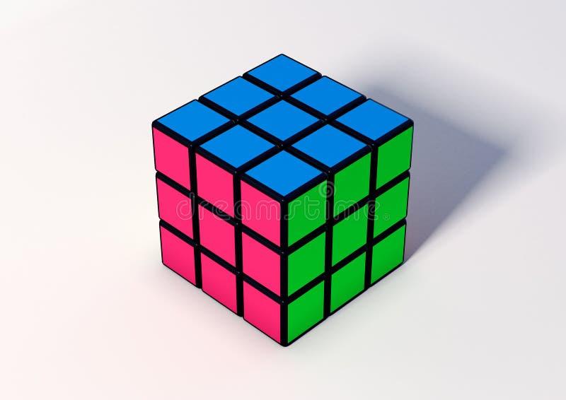 Cube en Rubik photo stock