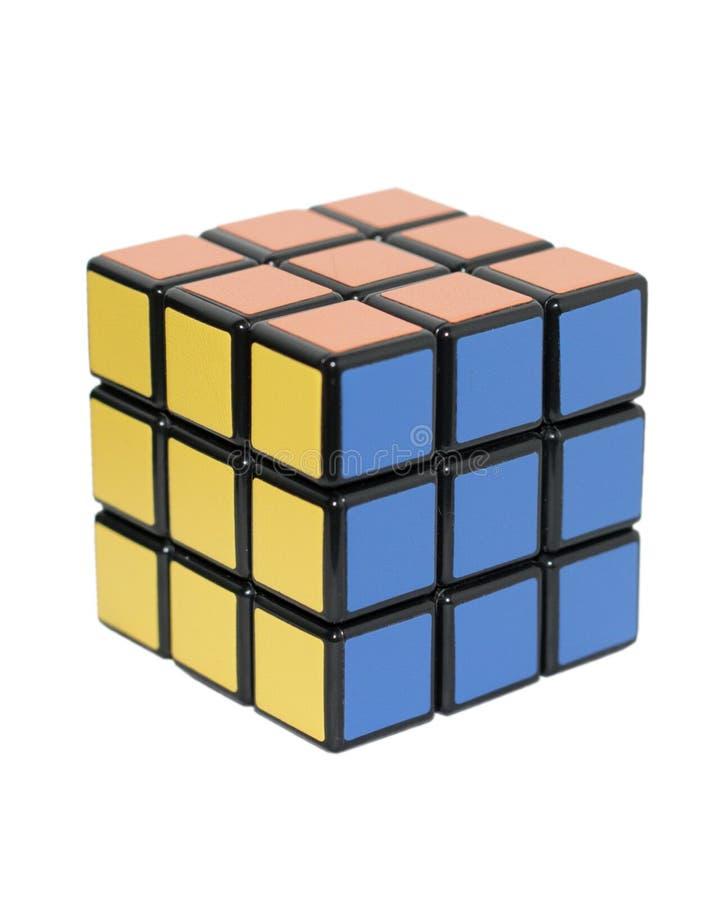 Cube en Rubik image stock