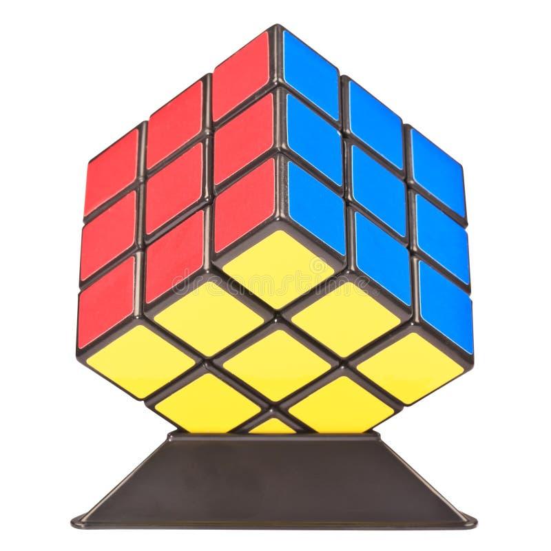 Cube en Rubik photos libres de droits