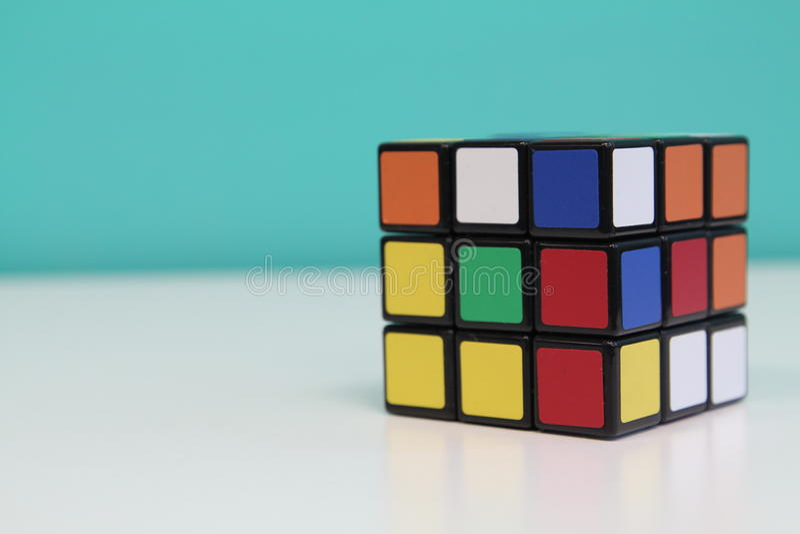 Cube en Rubik images stock