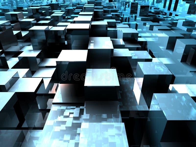 Cube Floor vector illustration