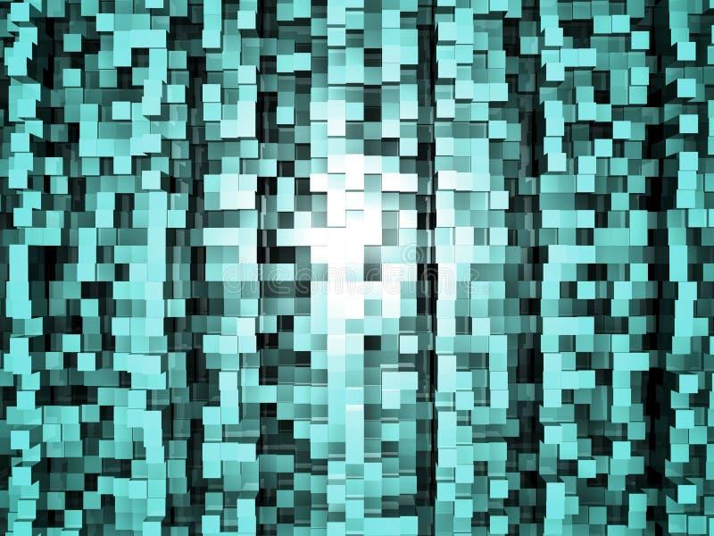 Cube Floor royalty free illustration