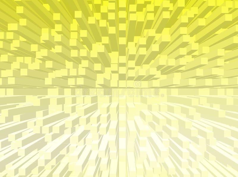 Cube le fond illustration libre de droits