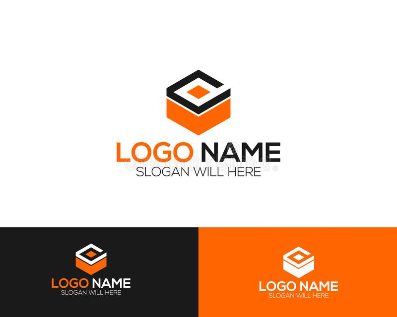 Cube Logo Template online store vectors illustration. This is very easy to use. U ca Use as your won simply vector illustration