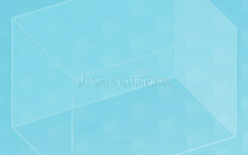 CUBE. Simple vector background for web vector illustration