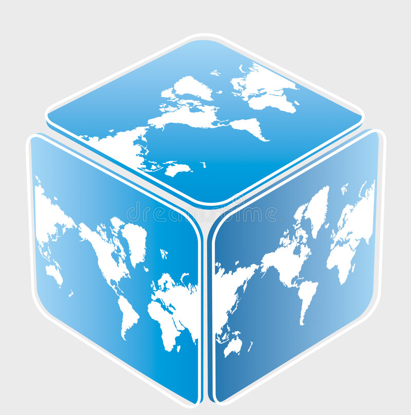Cube with world map stock illustration illustration of graphic download cube with world map stock illustration illustration of graphic 6438566 gumiabroncs Image collections