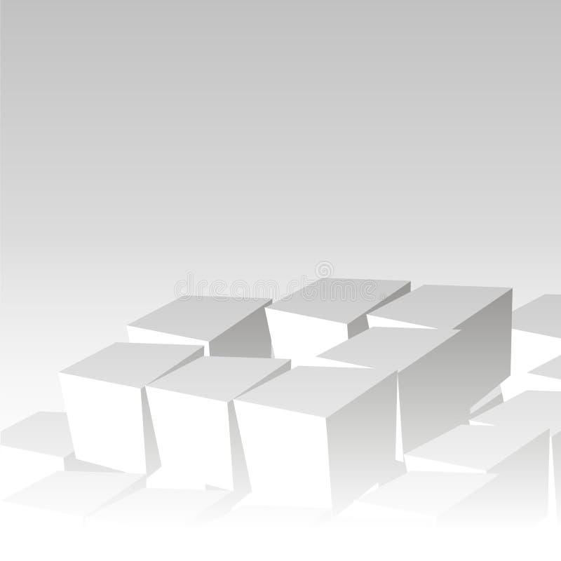 Cubes предпосылка. Кубик бесплатная иллюстрация