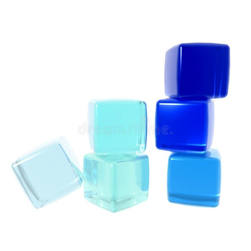 cubes разнообразность иллюстрация штока