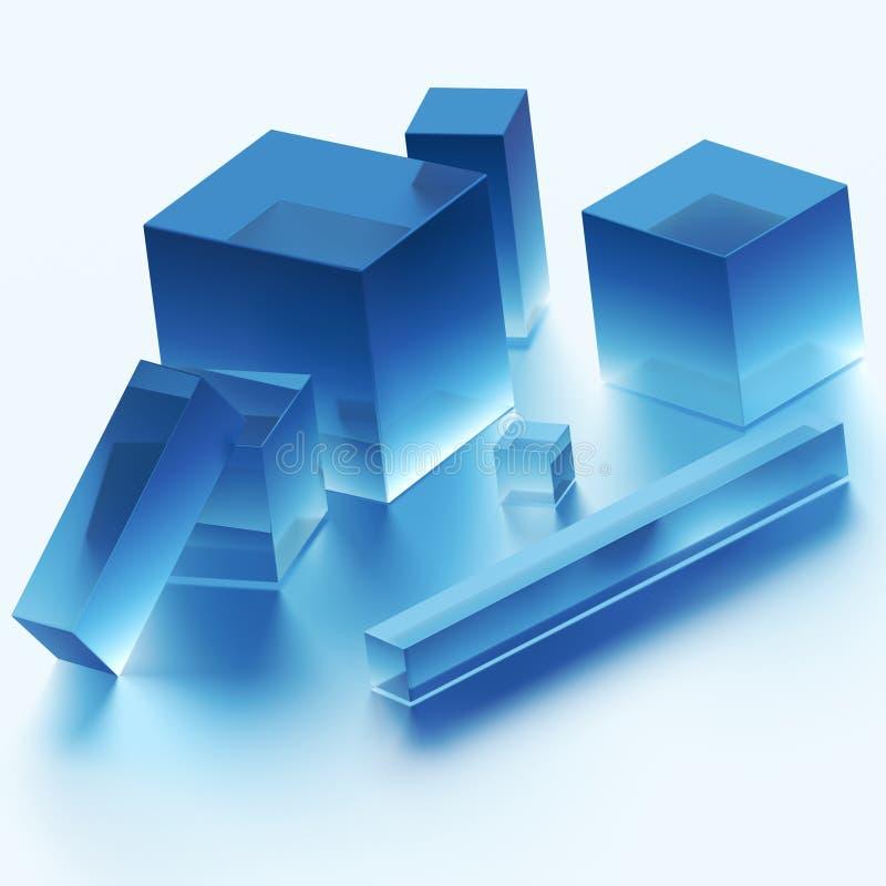 Free Cubes Royalty Free Stock Image - 11254526