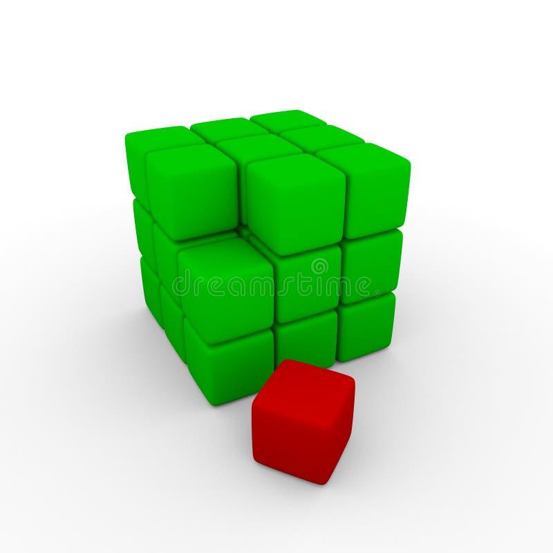 Download Cubes stock illustration. Illustration of illustration - 14027684