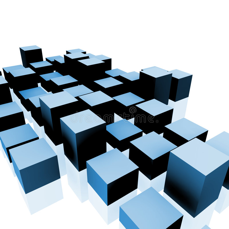 Cubes Royalty Free Stock Image