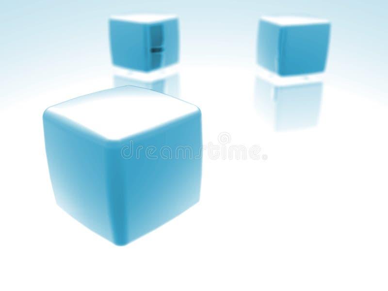 Cubes vector illustration