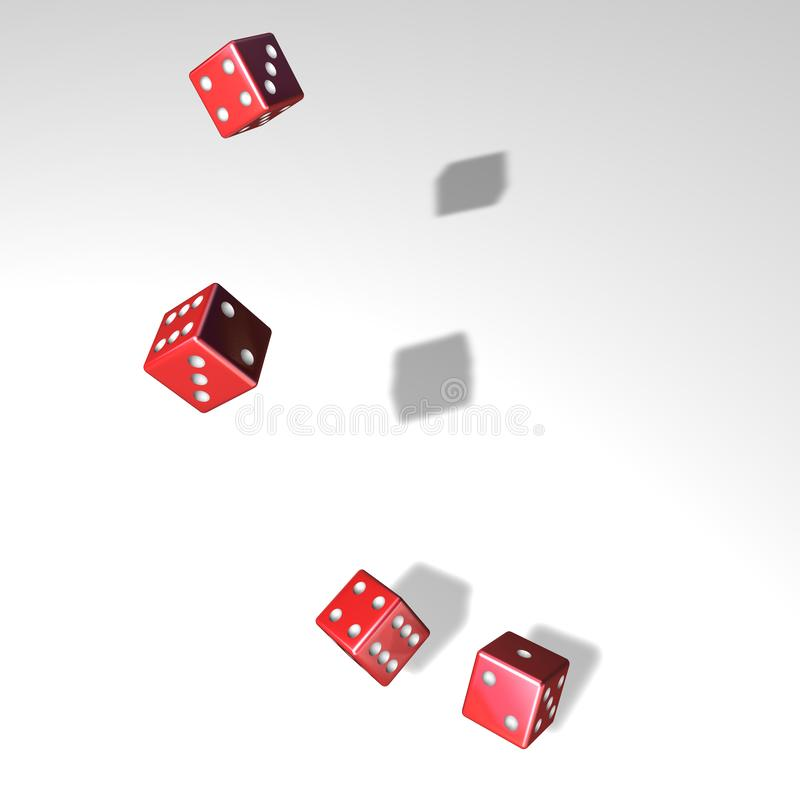 Download Cubes stock illustration. Image of eyes, number, shadow - 4027743