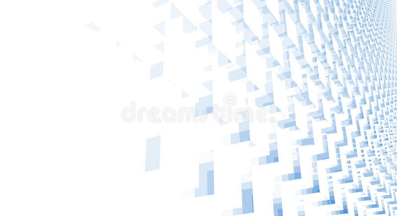 Cubes abstract royalty free illustration