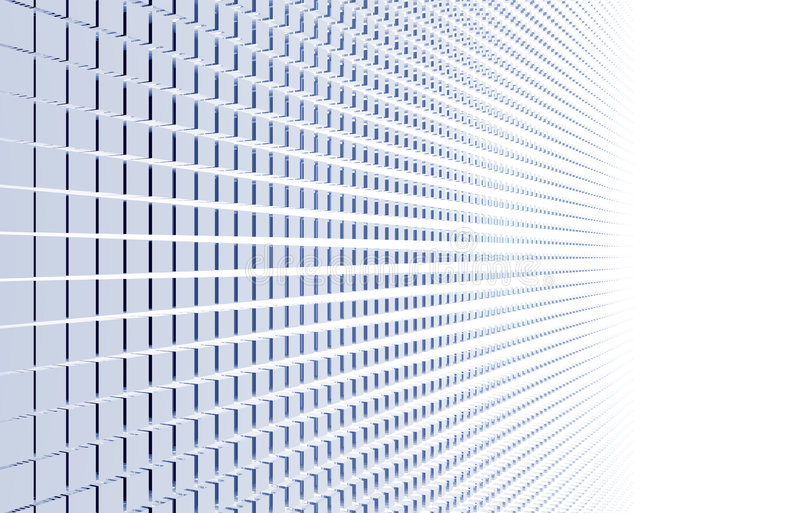 Download Cubes abstract stock illustration. Image of render, blue - 4205830