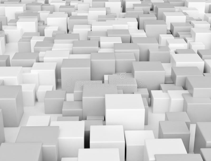 Cubes abstract background stock images