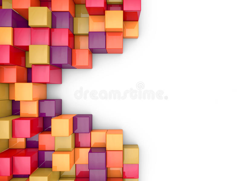 Download Cubes Abstract Background Royalty Free Stock Images - Image: 24543029