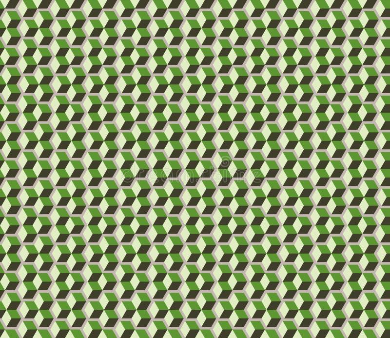 Cubes background vector illustration