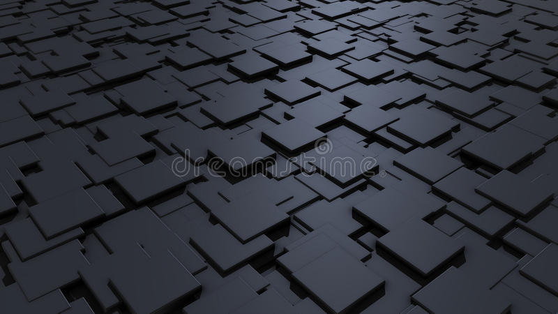 Cubes. Background, texture loop shadow royalty free illustration
