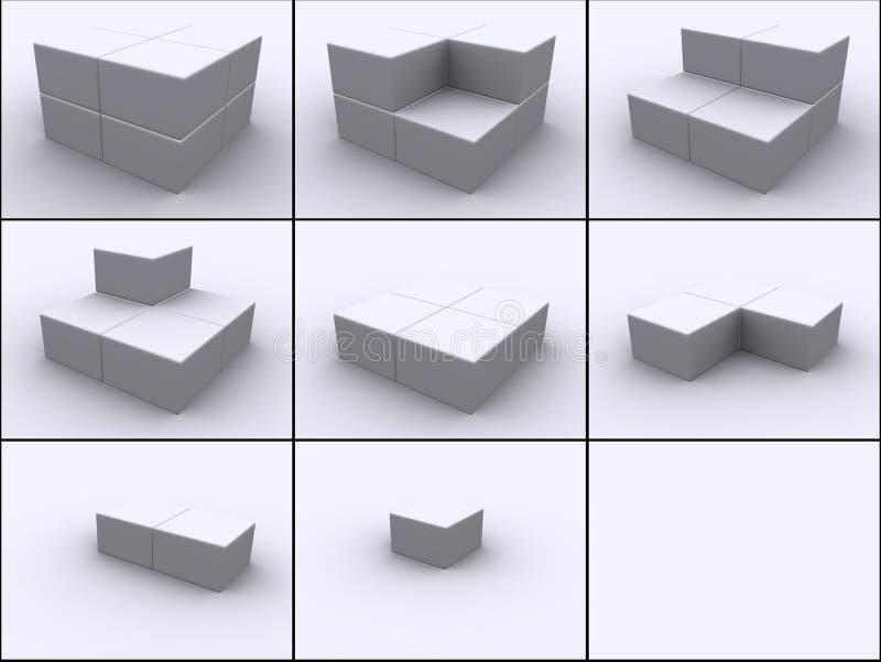 Cubes dans les opérations