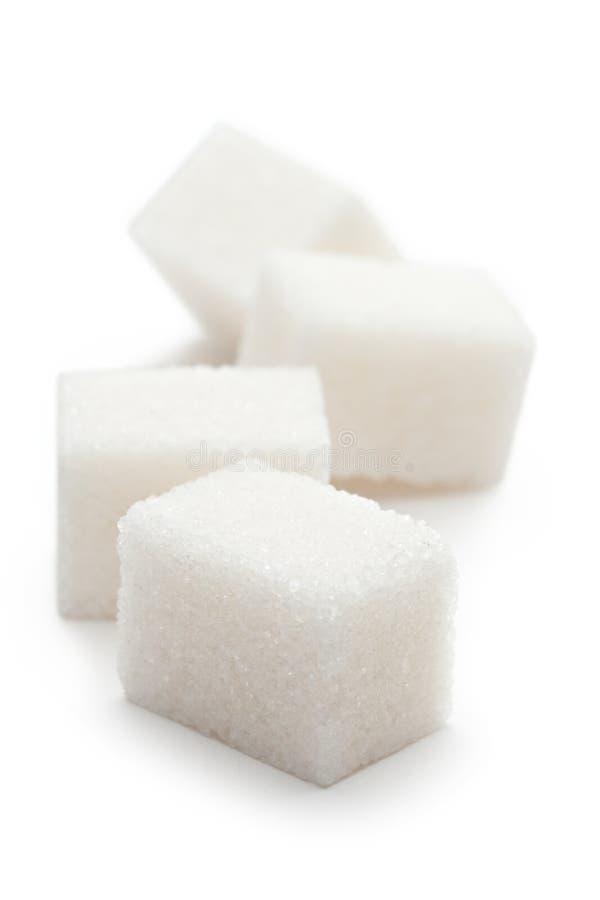 Cubes de sucre photos stock