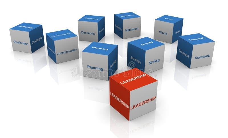 cubes en conduite 3d illustration libre de droits