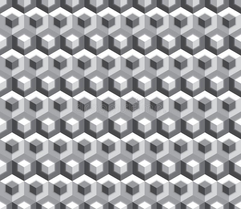 Cubes en double de guerre biologique illustration libre de droits