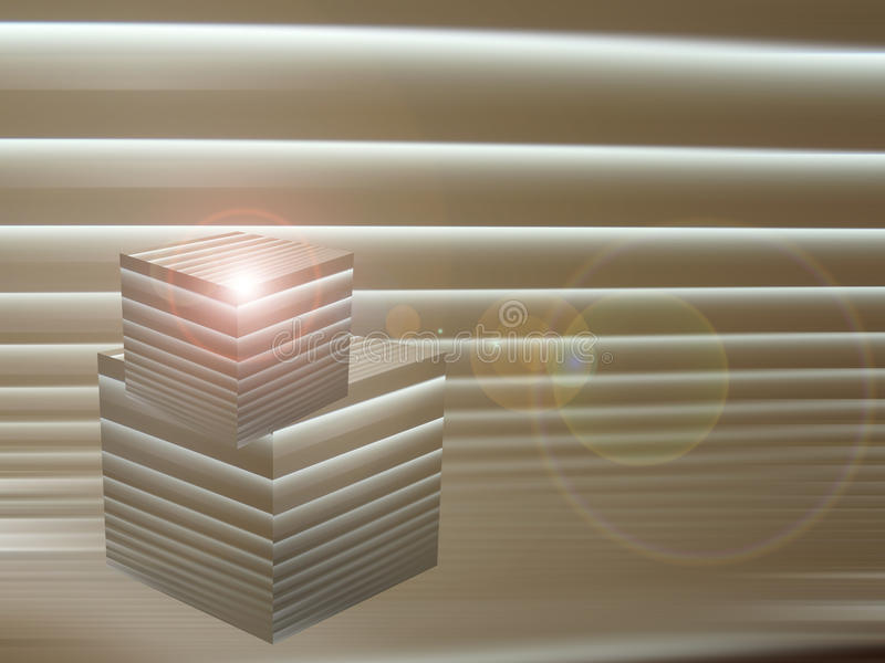 cubes en fond photos libres de droits