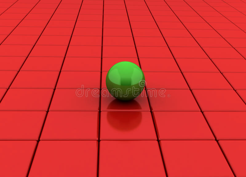 Download Cubes And Sphere Stock Photo - Image: 28856350