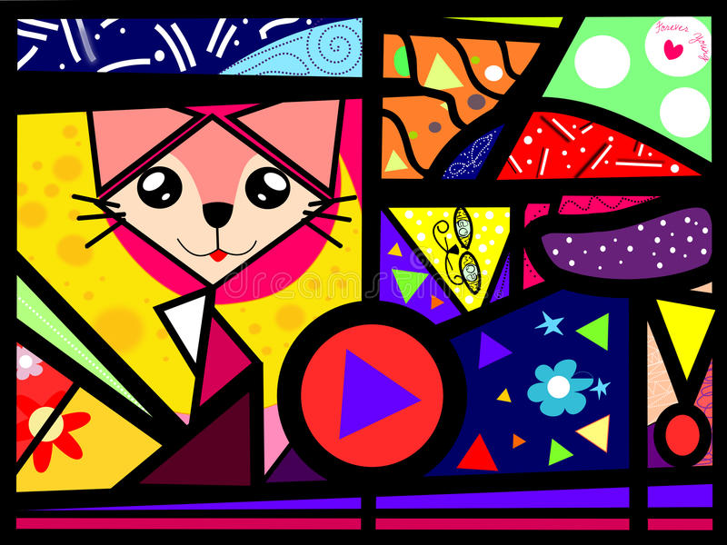 Cubi猫 库存图片