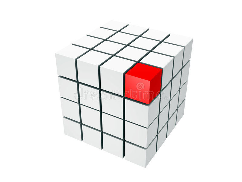 Cubi illustrazione vettoriale