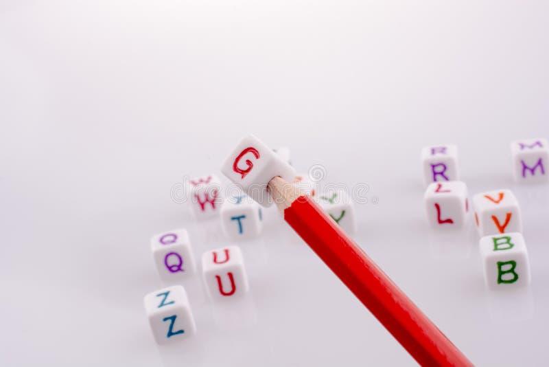 Cubi della lettera immagini stock libere da diritti