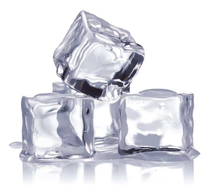 Cubi di ghiaccio immagine stock libera da diritti