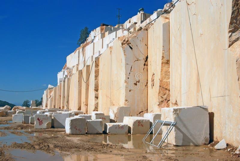 Cubi di marmo immagini stock