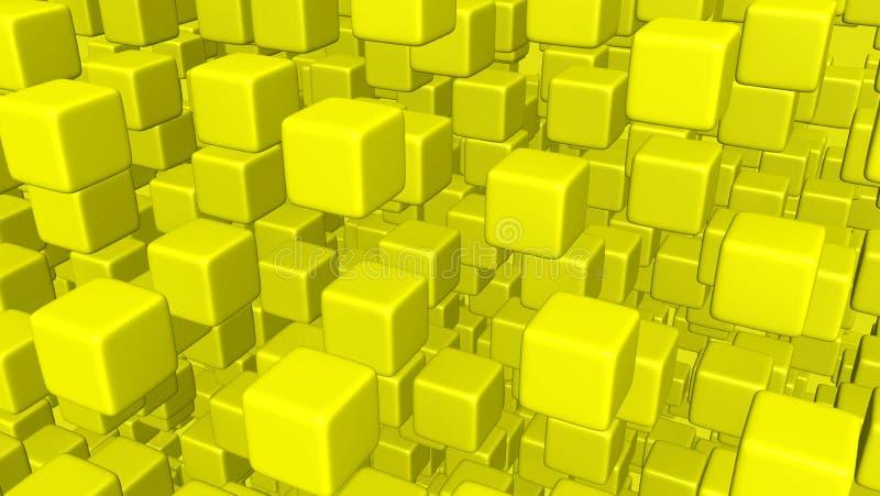 Cubi di volo immagine stock
