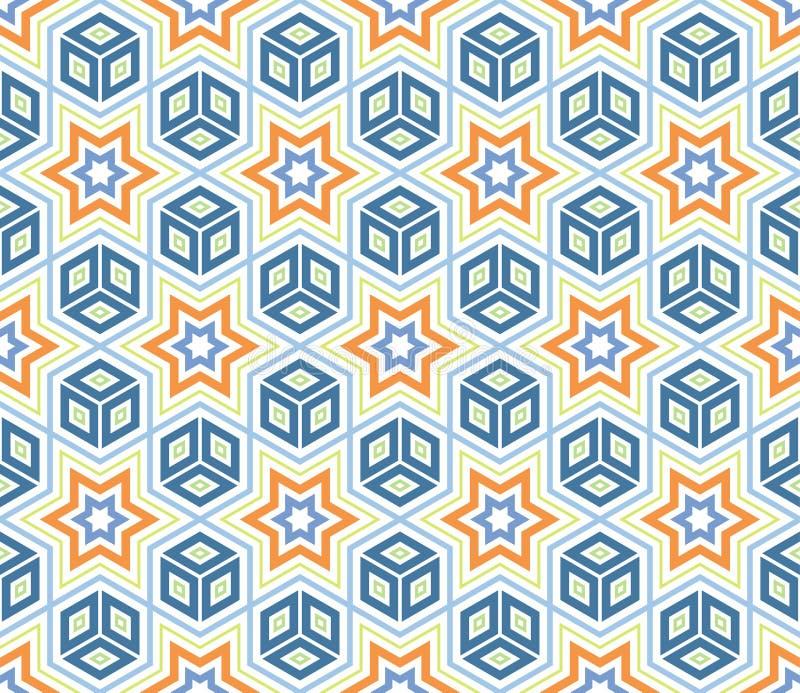 Cubi e stelle fotografia stock libera da diritti