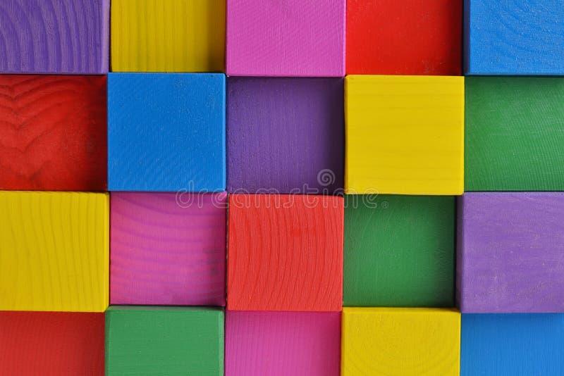 Cubi luminosi fotografie stock libere da diritti