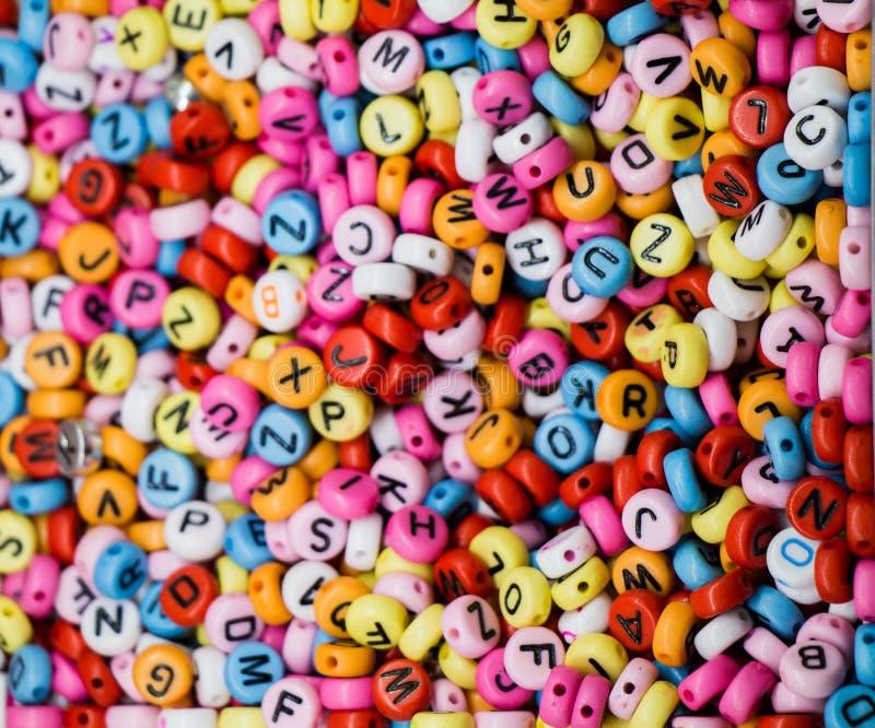 Cubi variopinti della lettera di alfabeto immagini stock libere da diritti