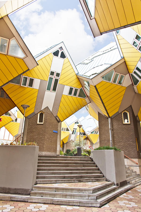 Download Cubic Houses At Rotterdam Royalty Free Stock Images - Image: 28720779