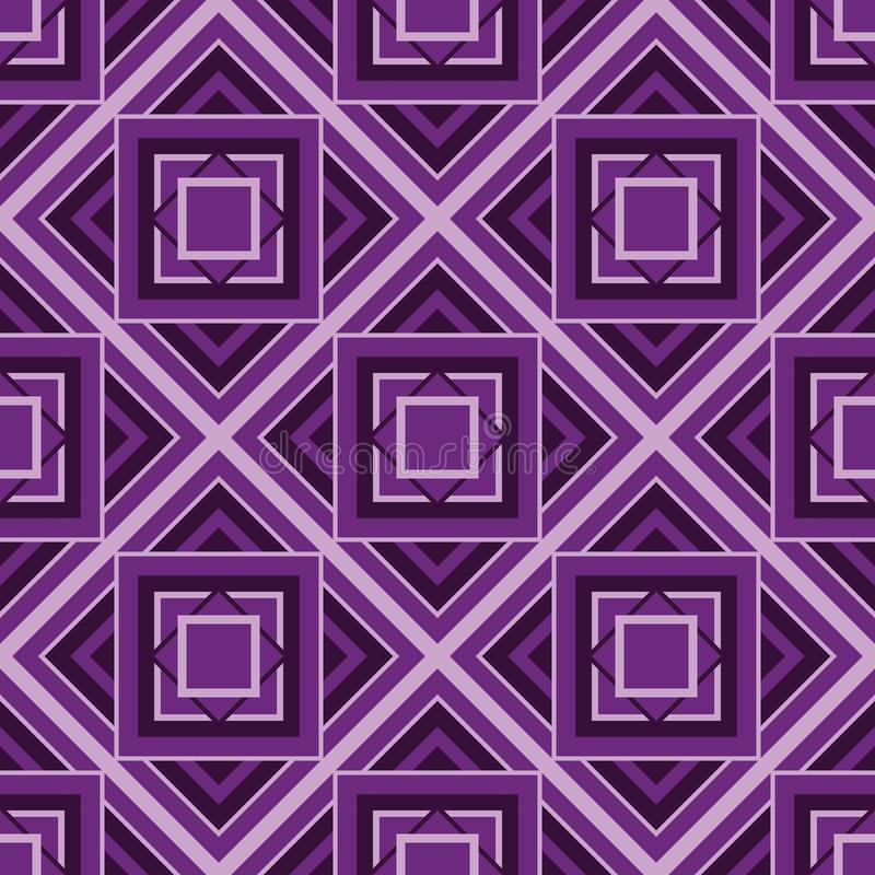 Cubic pattern bakcground. Design illustration stock illustration