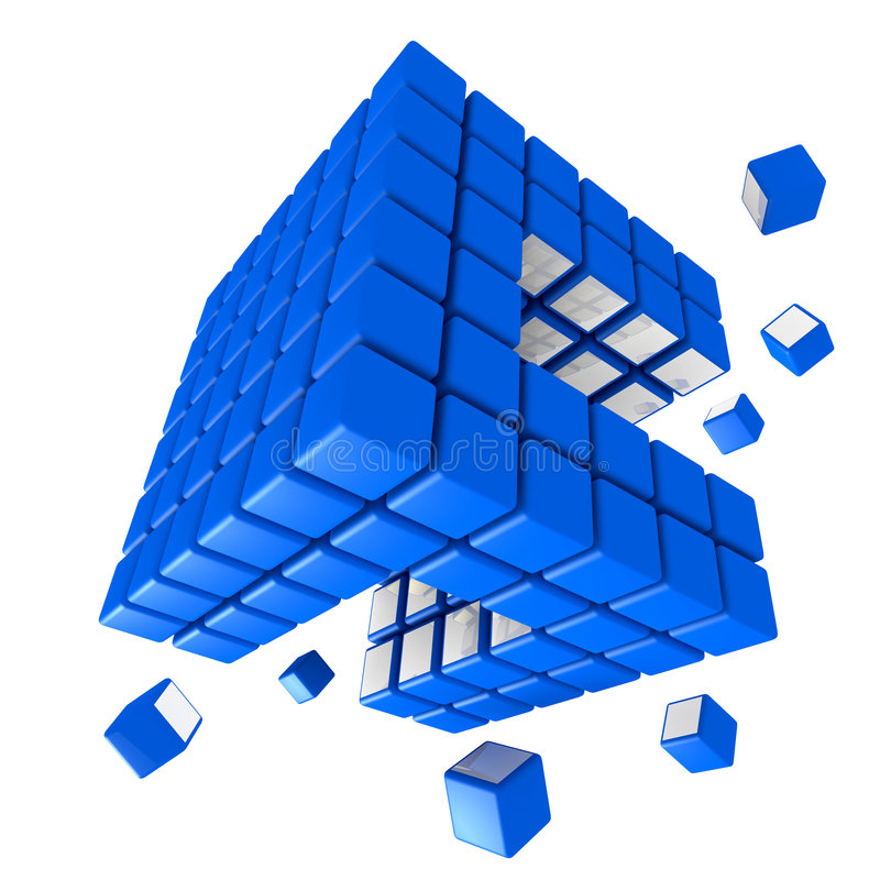 Download Cubic Structure Royalty Free Stock Photos - Image: 9118668