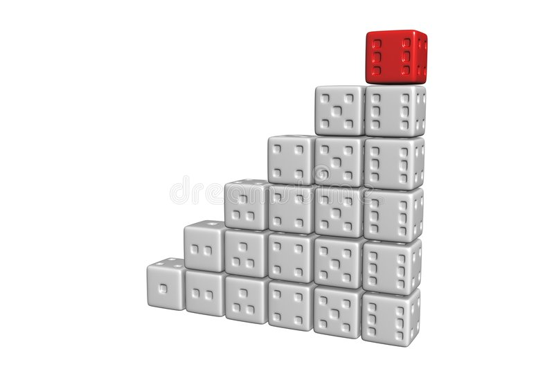 Cubic Win Stock Images
